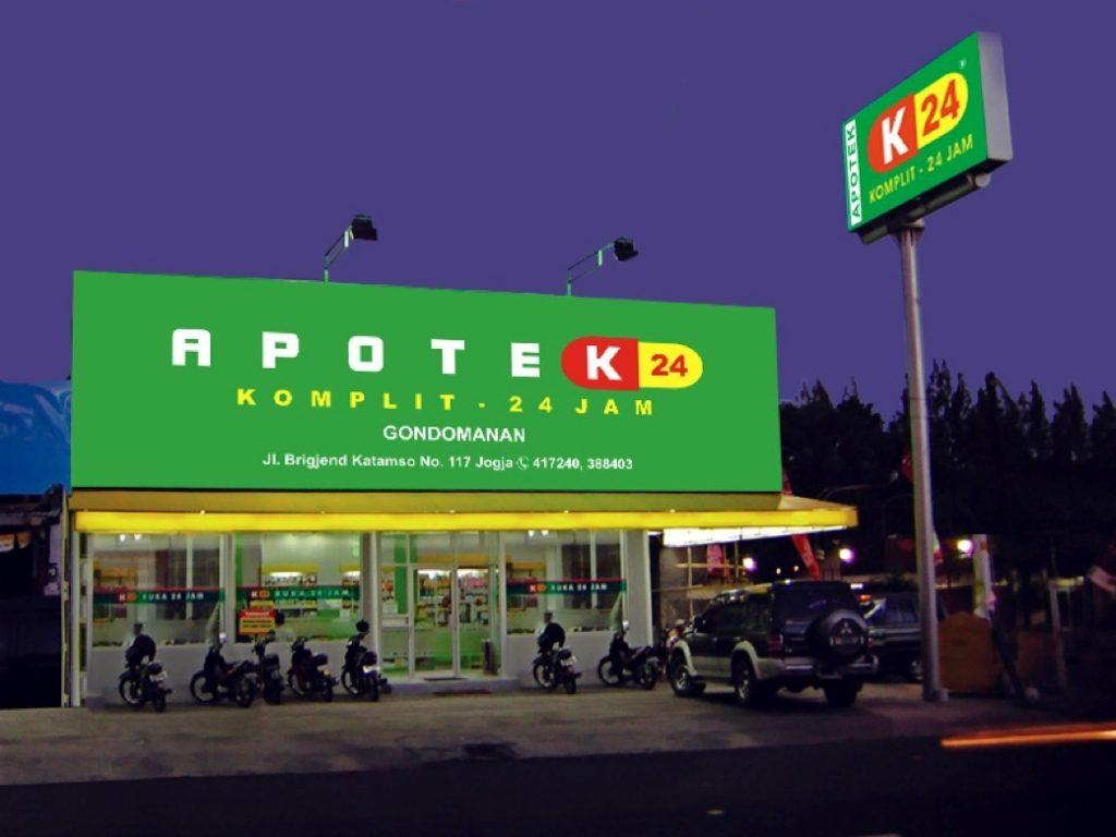 bisnis waralaba apotek k24
