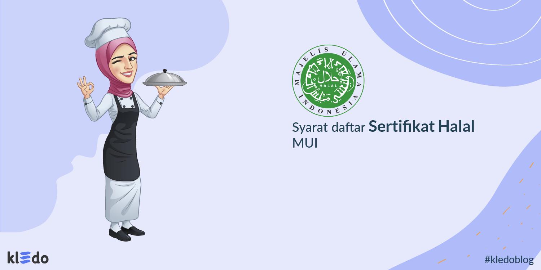 cara daftar sertifikat halal mui