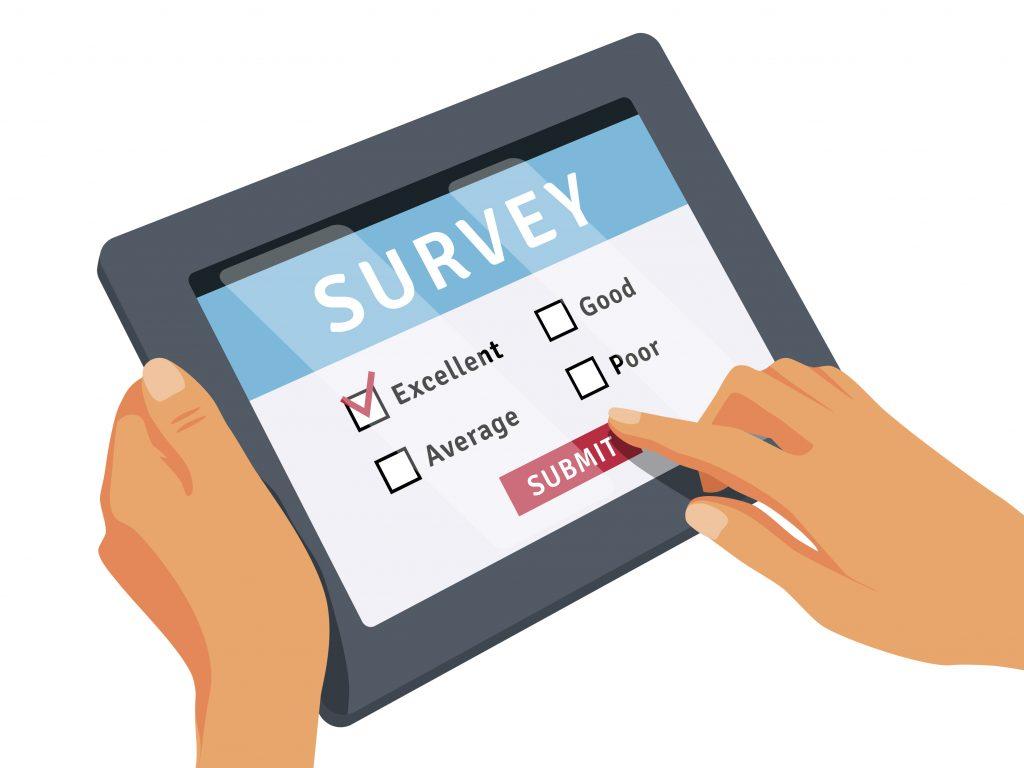strategi pemasaran survei