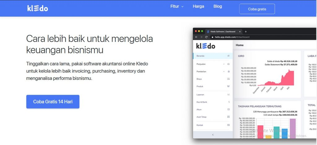software akuntansi kledo