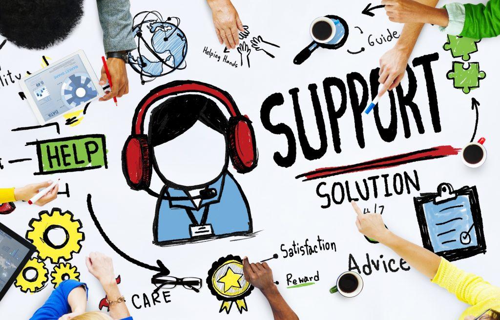 support pelanggan