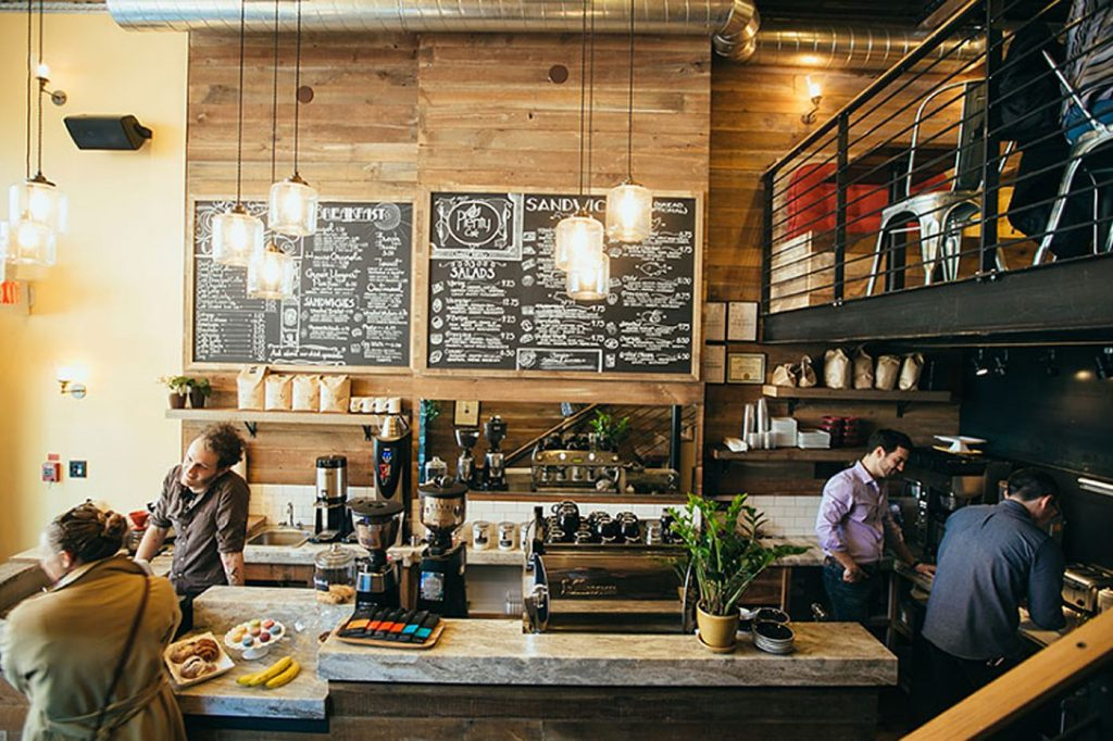 kafe bisnis