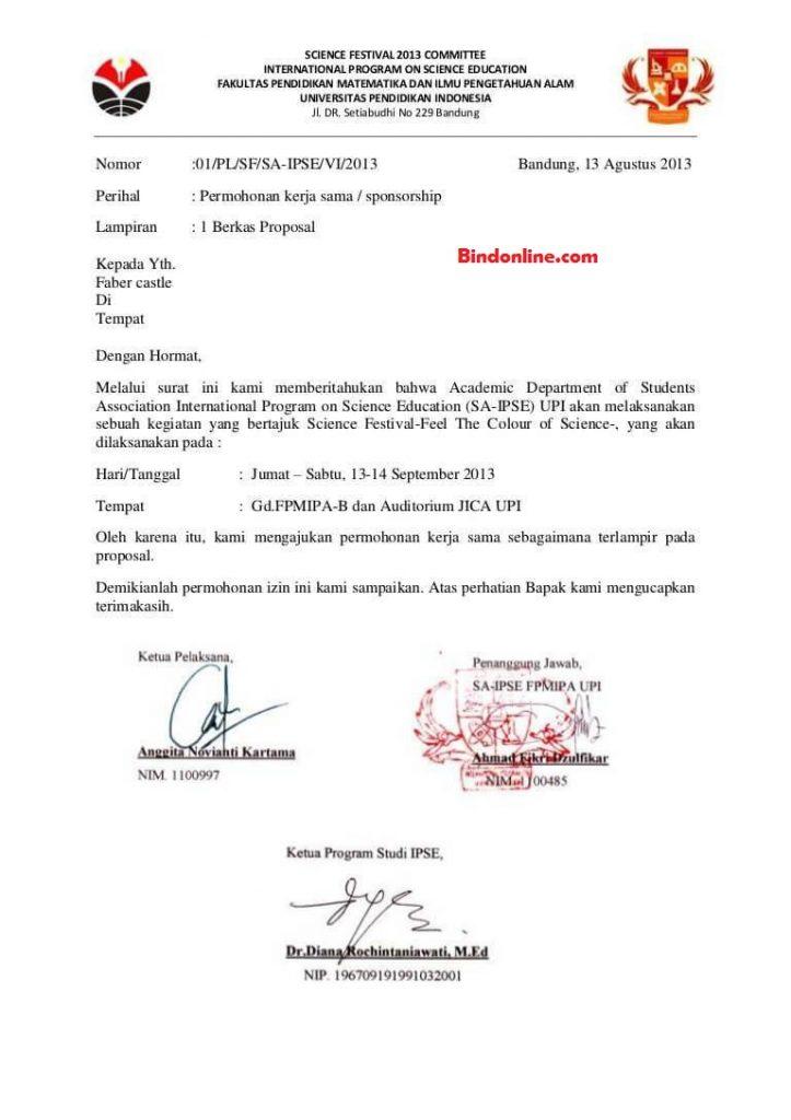 surat kerjasama