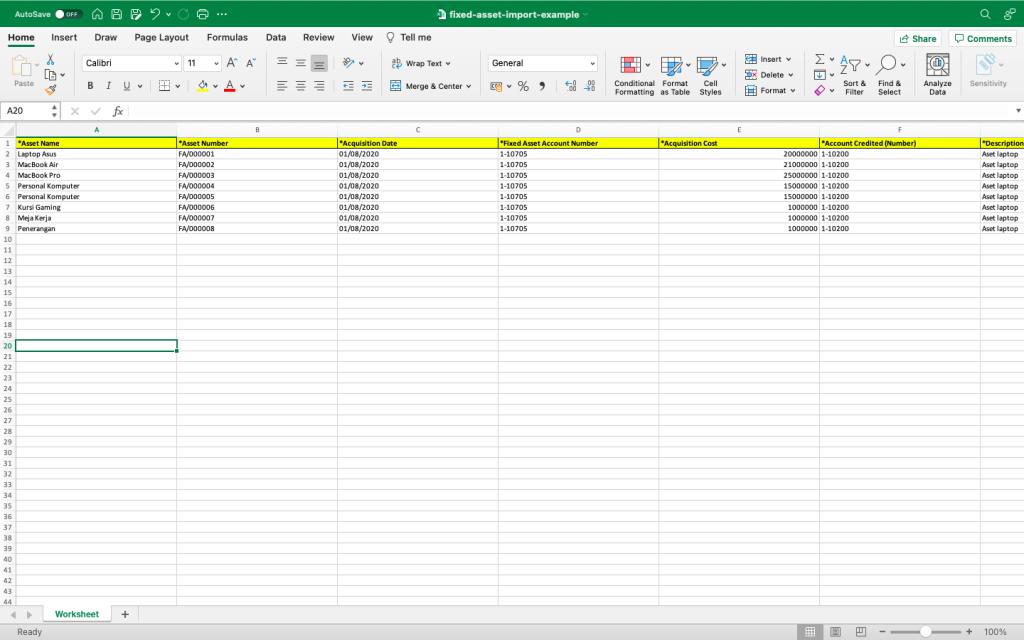 Template File Aset Tetap
